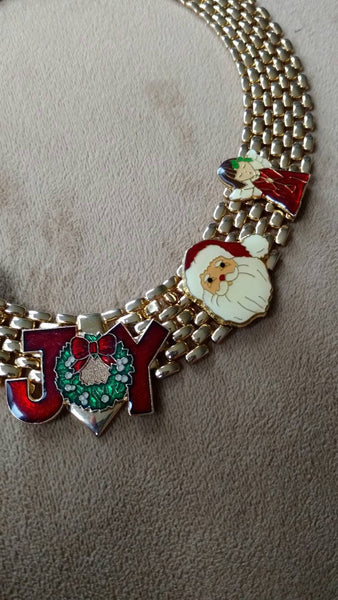 sale Christmas necklace - one of a kind