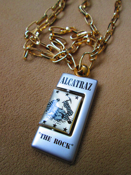 sale necklace //Alcatraz Necklace - One of a Kind