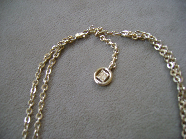 1970 Givenchy Gold Necklace