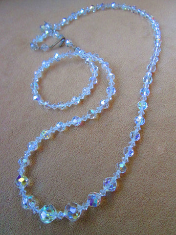 Austrian Clear Crystal Necklace