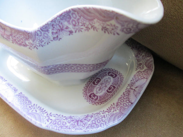 Large Gravy Boat by Spode Copeland with Attached Underplate // Made in England// Thanksgiving// Wedding Gift// Small Vase// Regal// Gift