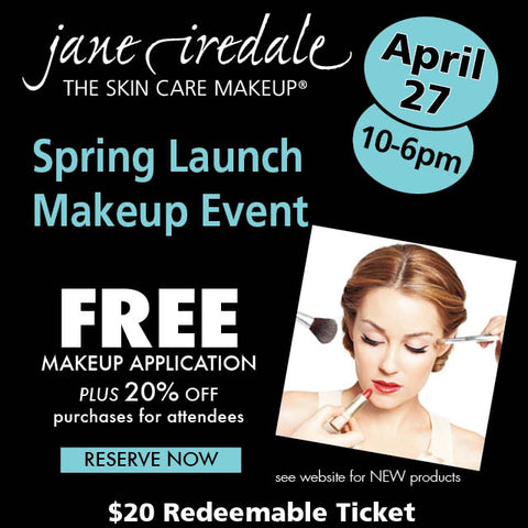 Jane Iredale Spring Launch Makeup Event