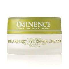 eminence bearberry eye repair cream organic anti aging hydrate