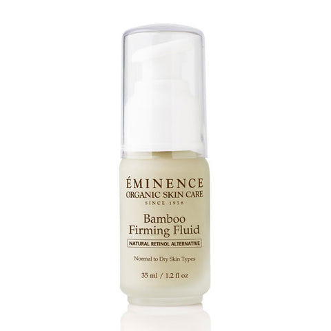eminence bamboo firming fluid firming anti aging fine lines hydrate organic