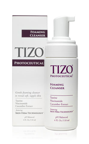 Tizo photoceutical foaming cleanser gentle mattifying hydrating