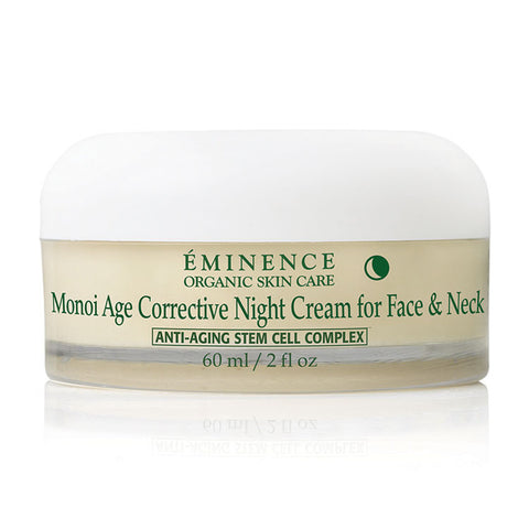 eminence monoi age corrective night cream for face neck