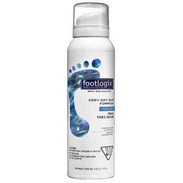 Footlogix Very Dry Skin Foot Foam