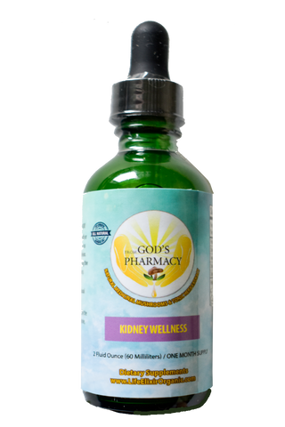 Kidney Wellness 2 oz. (60ml) Bottle/ One Month Supply