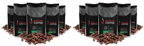 certified organic & 100% arabica coffee beans