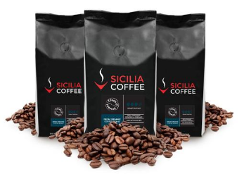 Fair trade decaffeinated coffee beans