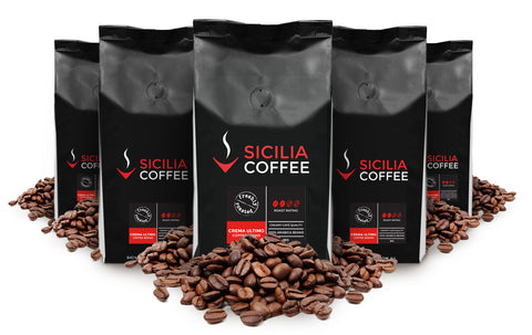 Full-bodied & creamy, 100% Arabica coffee beans originating from South America.