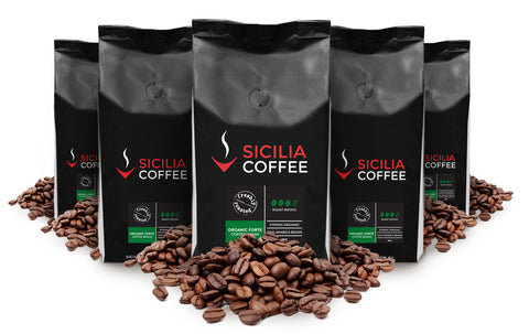 5kg Organic Forte Coffee Beans