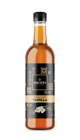 750ml Arkadia Vanilla Syrup
