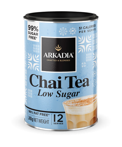 240g Arkadia Chai Tea Low Sugar 99% Sugar Free