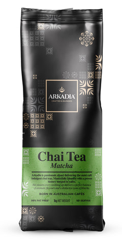 1kg Arkadia Chai Tea Matcha (Green Tea)