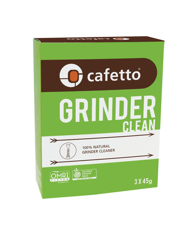 3 x 45g Cafetto Grinder Clean Box Sachet