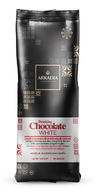Arkadia white drinking chocolate
