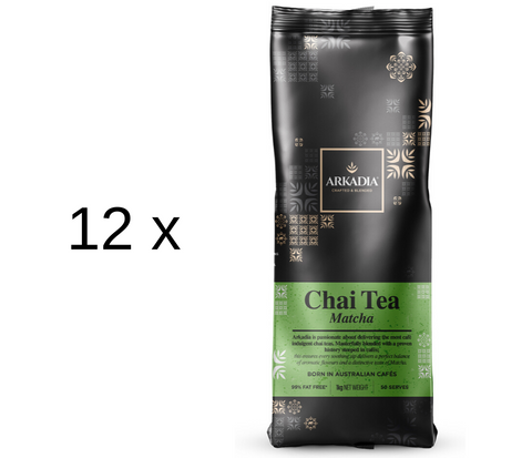 12kg Arkadia Chai Tea Matcha (Green Tea)