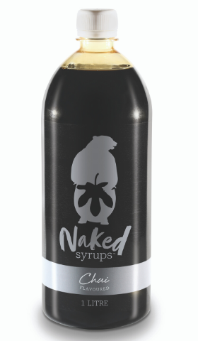1L Naked Syrups Spiced Chai Flavour (Liquid)