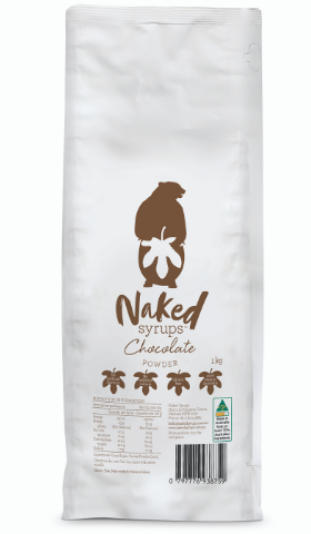 1kg Naked Syrups Chocolate Powder