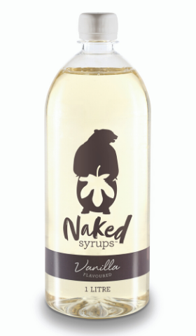 1L Naked Syrups Vanilla Flavour