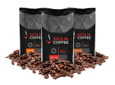 1.5kg Smooth Medium Sampler: 3 x 500g Coffee Beans