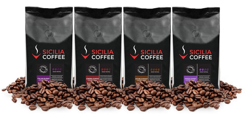1kg Strong Sampler: 4 x 250g Coffee Beans