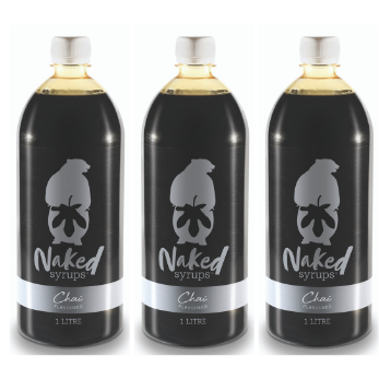 3L Naked Syrups Spiced Chai Flavour
