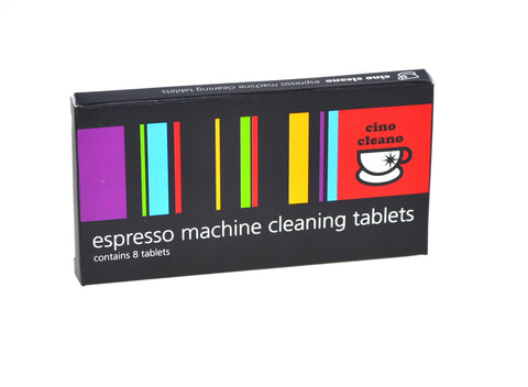 Cino Cleano Espresso Machine Cleaning Tablets: 8 x 1.5g (plus FREE sample!)