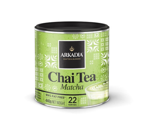 440g Arkadia Chai Tea Matcha (Green Tea)