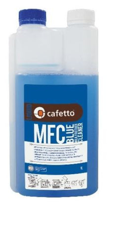 1L Cafetto Milk Froth Cleaner Blue (Barista Specialised)