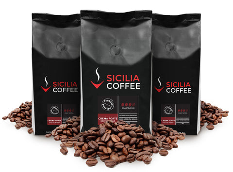 3kg Crema Forte Coffee Beans