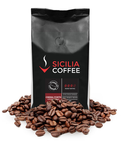 1kg Crema Forte Coffee Beans
