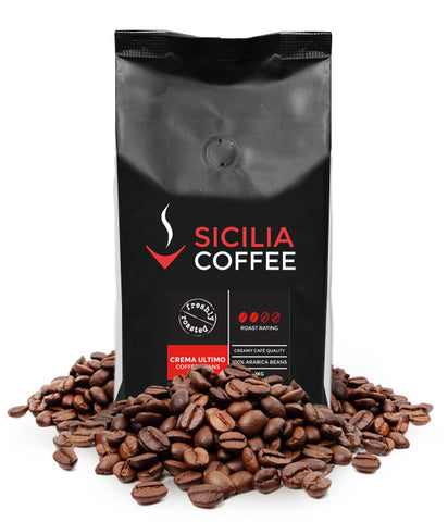 250g Crema Ultimo Coffee Beans