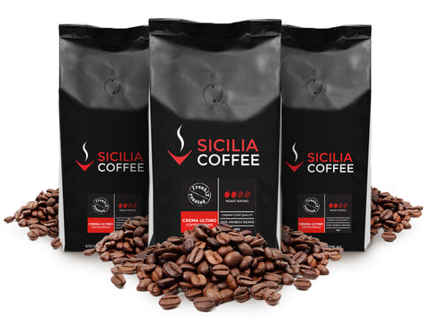 3kg Crema Ultimo Coffee Beans