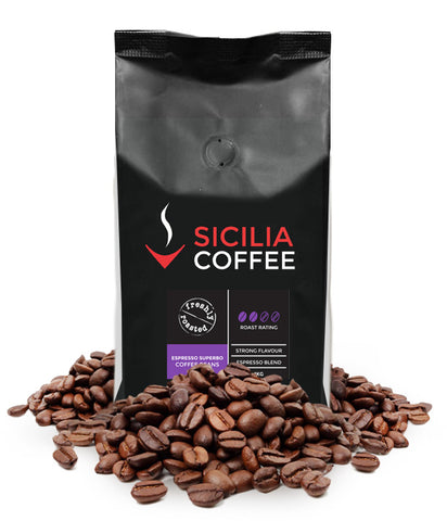 250g Espresso Superbo Coffee Beans