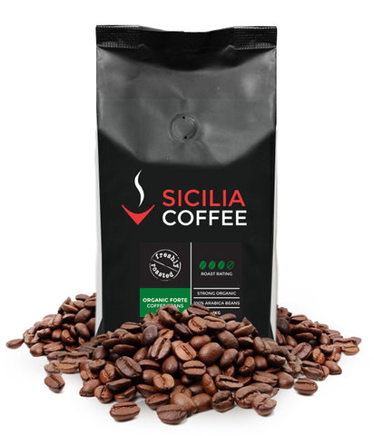 1kg Organic Forte Coffee Beans
