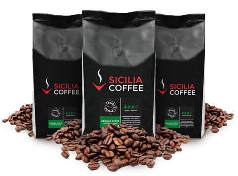 3kg Organic Forte Coffee Beans