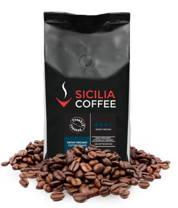 500g Decaf Organic Coffee Beans