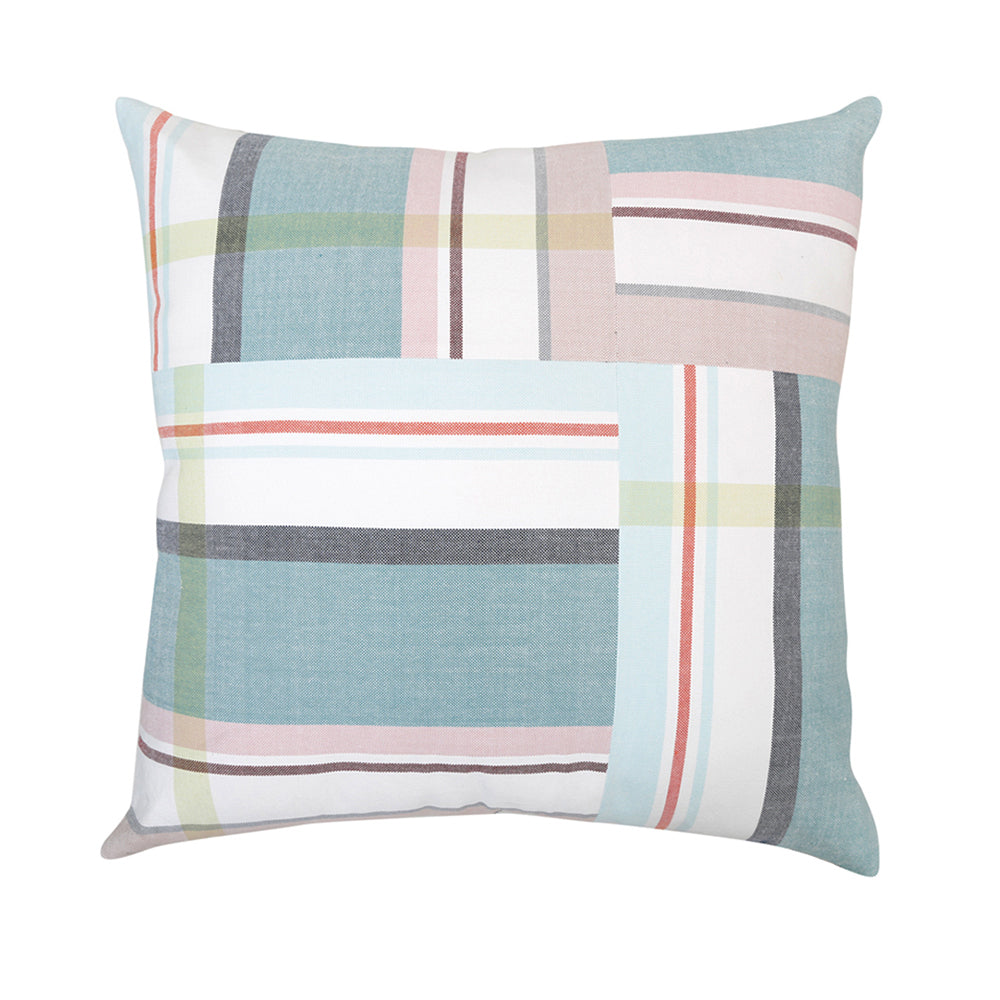 Chase Mint Floor Cushion - 80cm Square