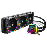 darkFlash Tracer 240/360mm Water Liquid Cooling AIO Cooler Radiator with 120mm LED Rainbow Static Lighting Case Fan CPU Coole