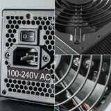 Segotep Power Supply, GP Series 80 Plus Gold Certified PSU Gaming Power Supply with Silent 120mm Fan (650W, Non-Modular)