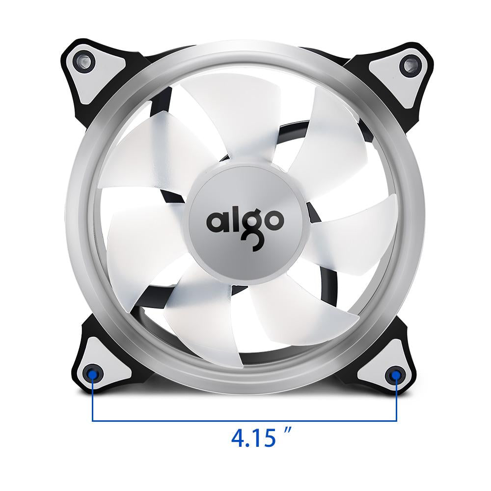 2X 120mm Computer PC 4 Pin Case Cooling Fan