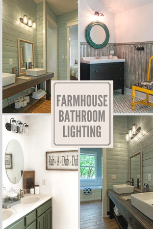 Farmhouse Bathroom Lights