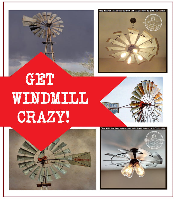 Crazy about windmills