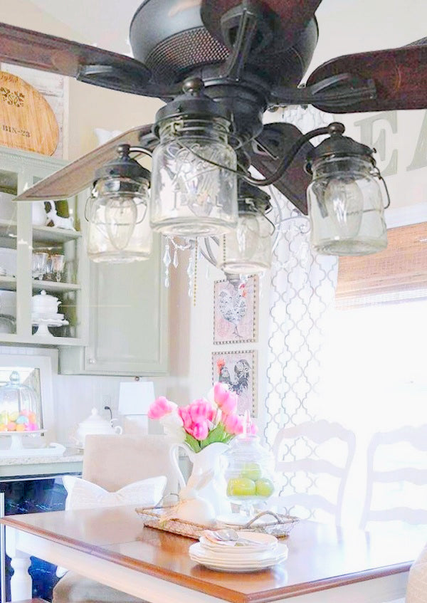 Mason Jar Ceiling Lights