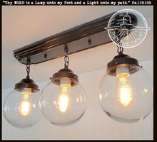 Load image into Gallery viewer, Biddeford II. Modern Ceiling Light Fixtures Rectangular Trio - The Lamp Goods
