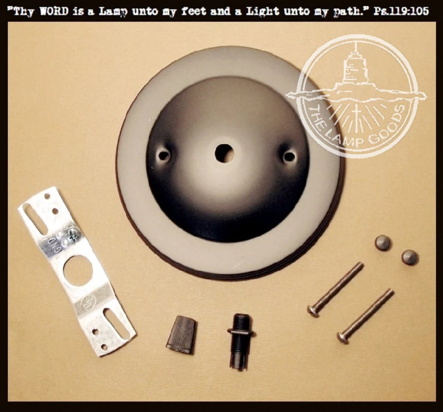 Mounting Hardware Fixture Kit Classic Design Ceiling Canopy The
