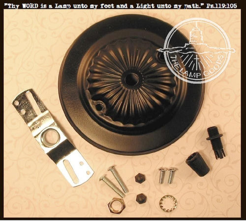 ROSETTE Design Ceiling Canopy Fixture MountingHardware Kit - The Lamp Goods