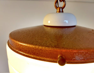 Retro Aged Copper Tone Ceiling Light Pendant - The Lamp Goods